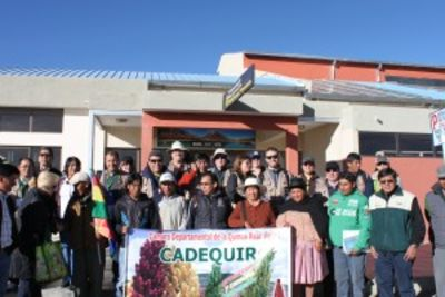 Cabolqui celebrates International Year of Bolivian Royal Quinoa