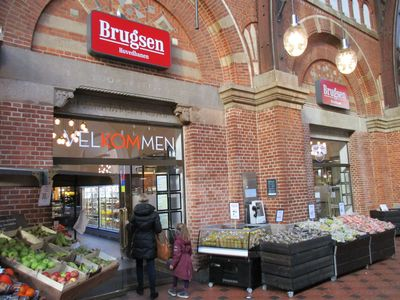 Copenhagen and Malmo supermarkets are naturally organic